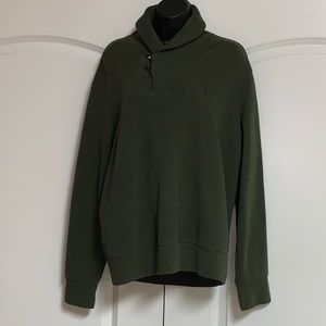 Polo Ralph Lauren Spruce Pony Leather Sweater M